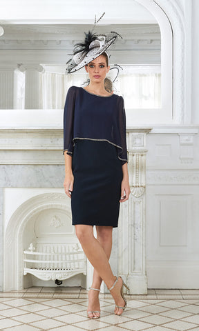 Begur Navy Claudia C Special Occasion Dress