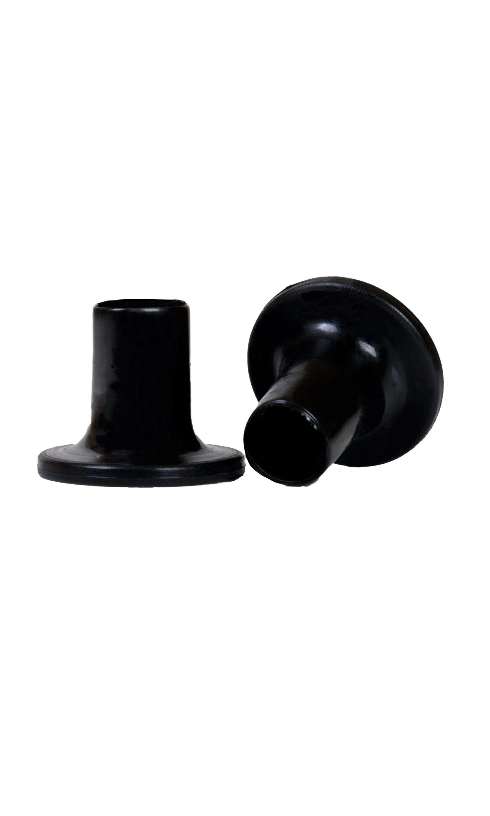 Heel Stoppers Black - Heel Protection For Grass & Gravel