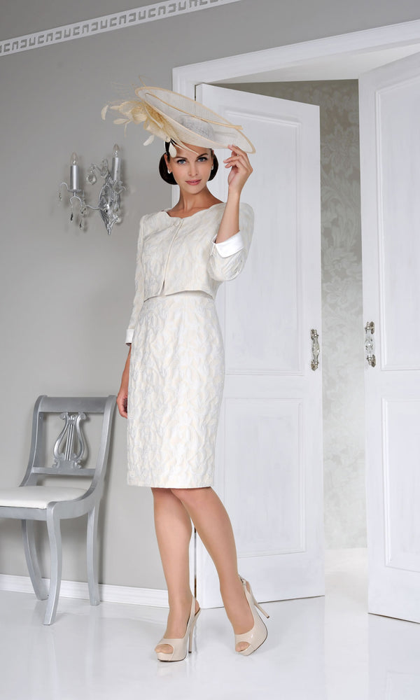 DC121 Porcelain Dress Code Dress & Bolero