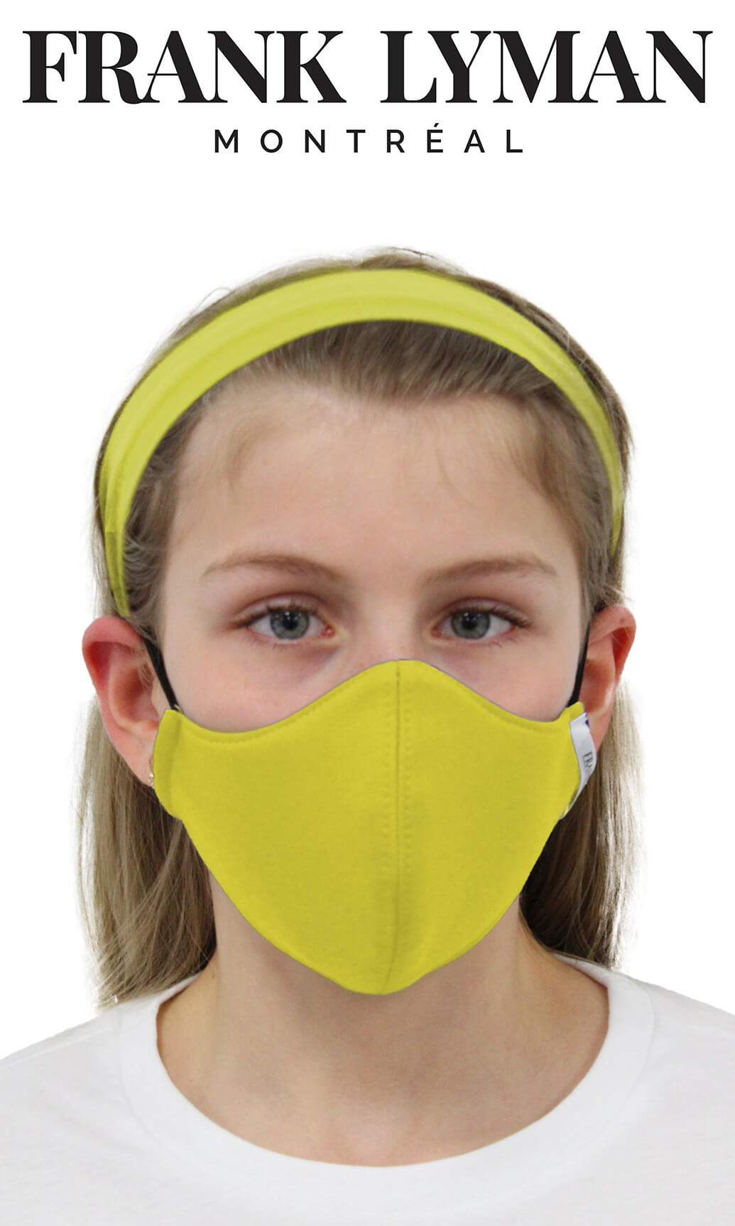 Frank Lyman Non-Medical Face Mask Small Adult/Kids Citrus - Fab Frocks