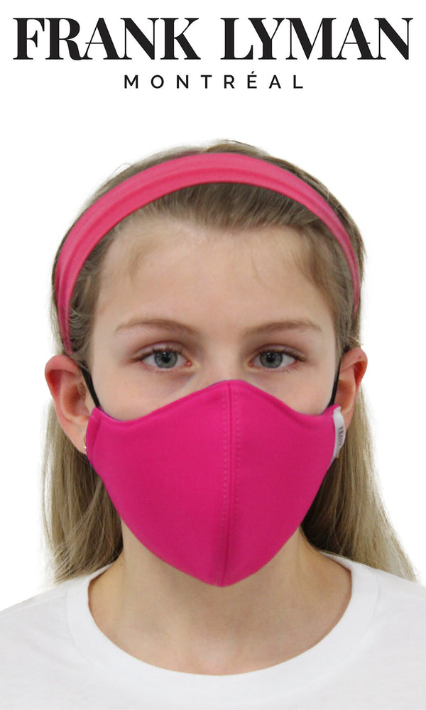 Frank Lyman Non-Medical Face Mask Small Adult/Kids Candy Pink - Fab Frocks