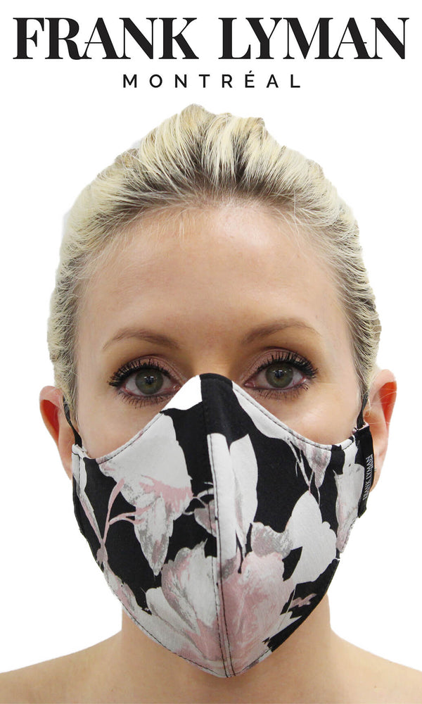 Frank Lyman Pink Floral Print Non-Medical Face Mask