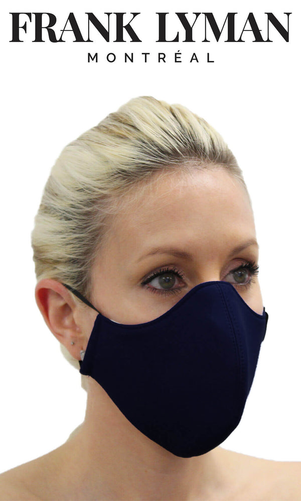 Frank Lyman Non-Medical Face Mask Navy - Fab Frocks