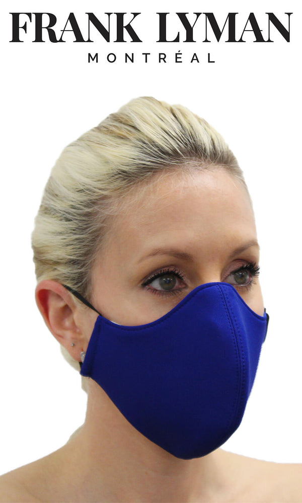 Frank Lyman Non-Medical Face Mask Royal Blue