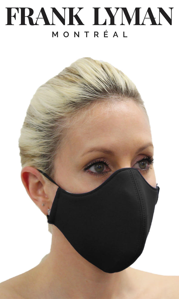 Frank Lyman Non-Medical Face Mask Black - Fab Frocks