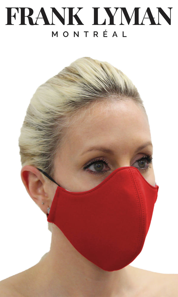 Frank Lyman Non-Medical Face Mask Red - Fab Frocks