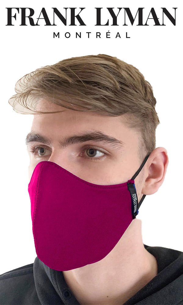 Frank Lyman Non-Medical Face Mask Fuchsia Pink