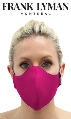 Frank Lyman Non-Medical Face Mask Fuchsia Pink - Fab Frocks
