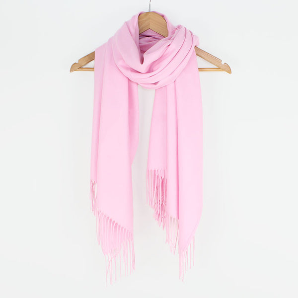 Georgia Pashmina Baby Pink Tilley & Grace - Fab Frocks