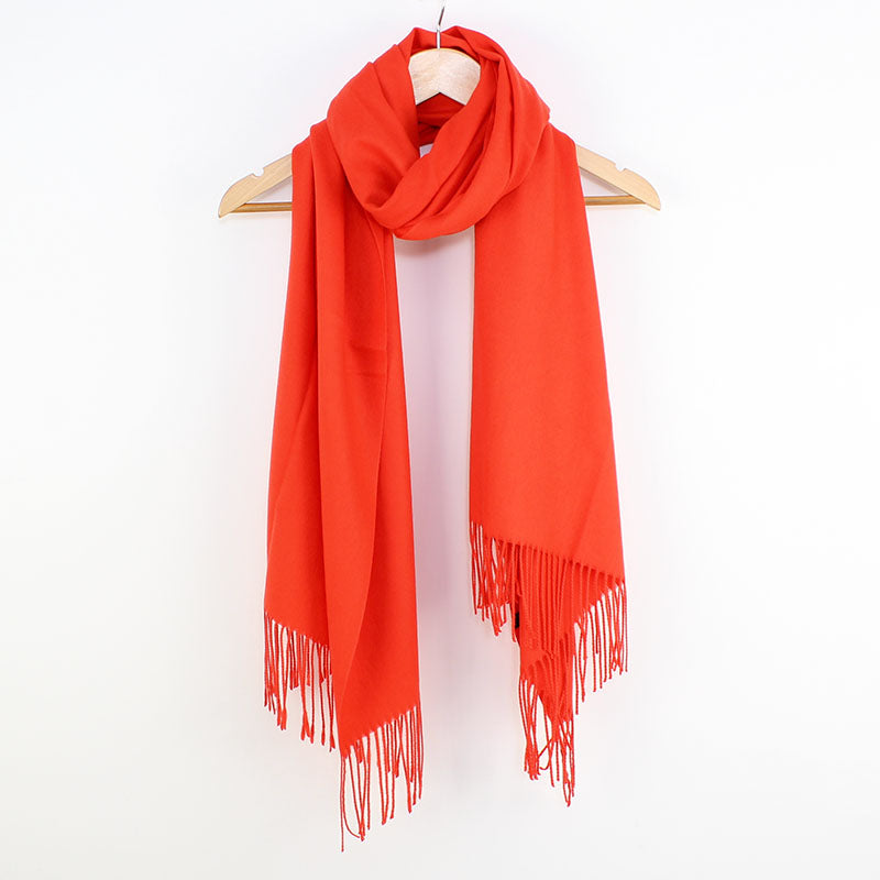Georgia Pashmina Burnt Orange Tilley & Grace - Fab Frocks