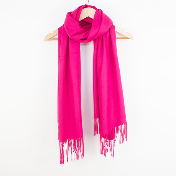 Georgia Pashmina Fucshia Tilley & Grace - Fab Frocks