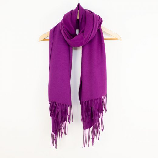 Pashmina Purple Tilley & Grace - Fab Frocks