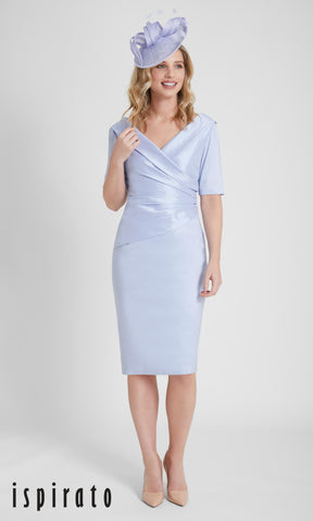 ISF821 Ispirato Special Occasion Dress Freshwater Blue - Fab Frocks
