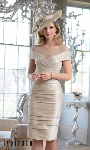 ISF825 Soft Spice Ispirato Special Occasion Dress - Fab Frocks