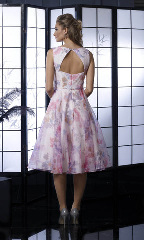 VO5354 Pink Veromia Occasions Dress - Fab Frocks