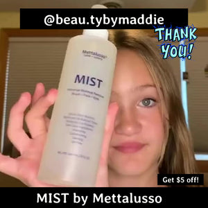 Beauty Influencer @beau.tybymaddie shares Mist by Mettalusso