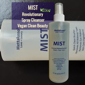 Mist by Mettalusso is a first of kind spray cleanser with skincare complex