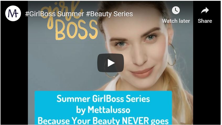 Mettalusso Media GirlBoss Summer Series Because Your Beauty Never Goes on Vacay! MIST Makeup Remover