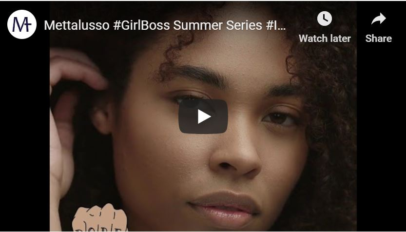 Mettalusso Media GirlBoss Summer Series Because Your Beauty Never Goes on Vacay! SPF Foundation Inclusive Shades!