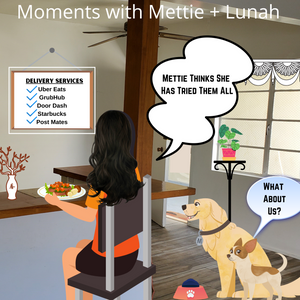 Moments with Mettie and Lunah Homebody Edition