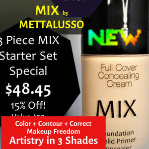 METTALUSSO MIX Color + Contour + Conceal Multi-Use Makeup