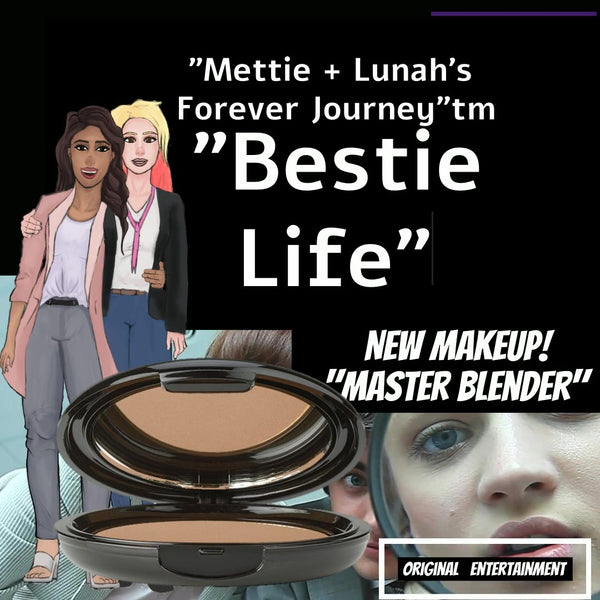 New Clean Beauty + Vegan Makeup and Entertainment Mettie + Lunah's Forever Journey