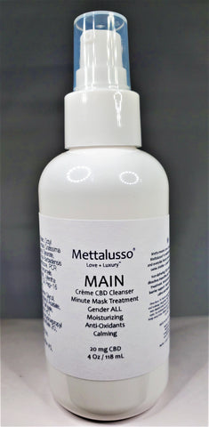 METTALUSSO MAIN Creme Cleanser and Minute Mask Treatment