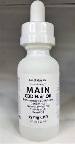 METTALUSSO MAIN CBD Hair Styling Oil