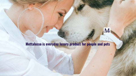 Mettalusso inspiration with glam vegan products for both people and pets