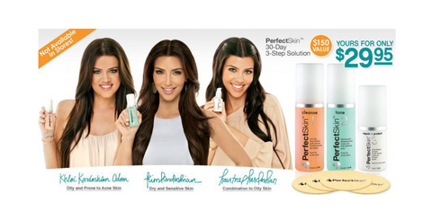 Christine C Oddo managed the Kardashian Brand Perfect SKin