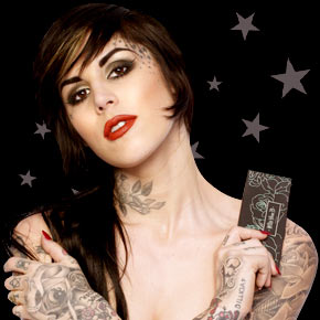 Christine C. Oddo created the Kat von D collection of makeup for Sephora
