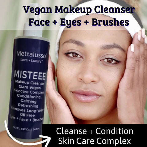 MISTEEE by Mettalusso Vegan Revolutionary Spray Makeup Cleanser with Skincare
