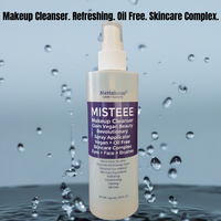 MISTEEE by Mettalusso is Vegan Glam Makeup Cleanser Revolutionary Oil Free Formula