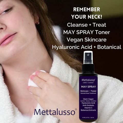 Mettalusso MAY SPRAY for the Neck won't get on your clothes