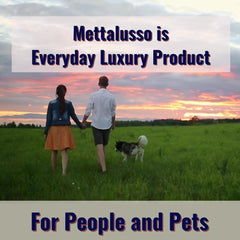 Mettalusso is the world's first vegan clean beauty brand for people and pets