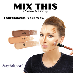 Mettalusso MIX THIS Creme Makeup Contour Cover Highlight