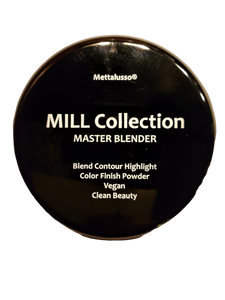 METTALUSSO MILL COLLECTION MASTER BLENDER Vegan Clean Beauty Illuminating and Finish Color Pressed Powder