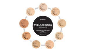 Micro Matte Vegan Clean Beauty Pressed Powder by Mettalusso in the Mill Collection