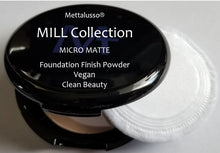 Mettalusso Micro Matte Vegan Clean Beauty Foundation and Finish Pressed Powder