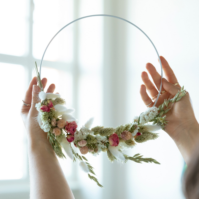 Videokurs - Dried Flower Wall Hanging mit Juliane