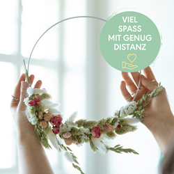 Dried Flower Wall Hanging<br>|Di., 22.09.2020 - 19:00 Uhr<br>|Mit Doreen K. | Bremen