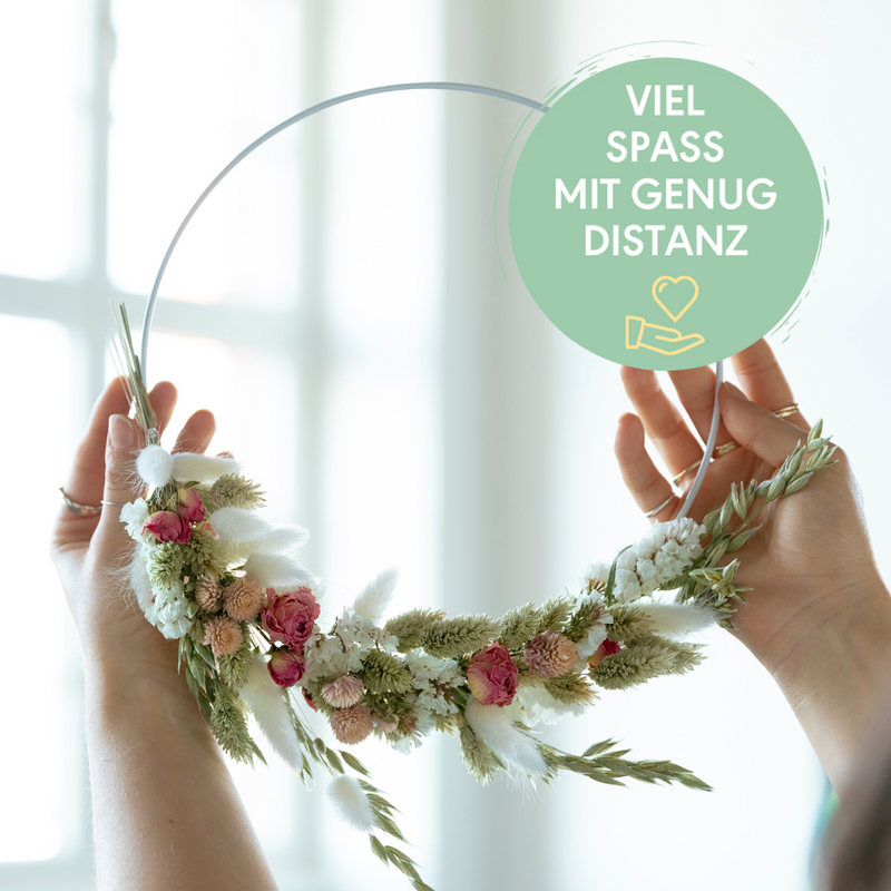 Dried Flower Wall Hanging<br>|Mo., 14.09.2020 - 18:30 Uhr<br>|Mit Susanne H. | Bonn