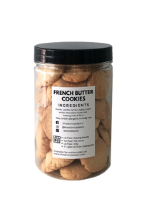 French Butter Cookies (2 sizes available)