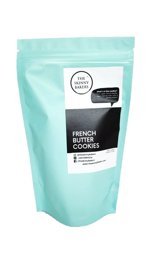 French Butter Cookies The Skinny Bakers