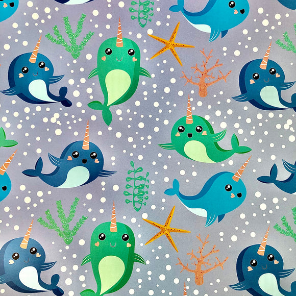 Magical Sea Creatures! (Wrapping Paper)