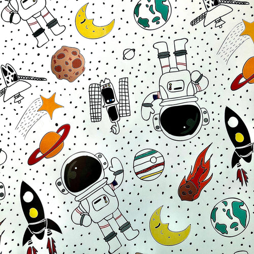 Fly Me to the Moon (Wrapping Paper)