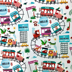 Hello KL! (Wrapping Paper)