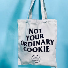 "Load image into Gallery viewer, ""Not Your Ordinary Cookie"" Tote Bag"