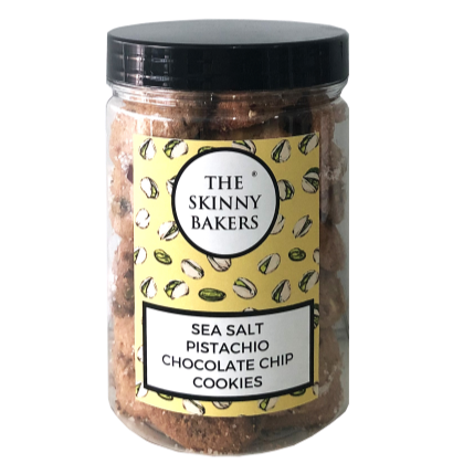 Cookie Jar - Sea Salt Pistachio Chocolate Chip Cookies