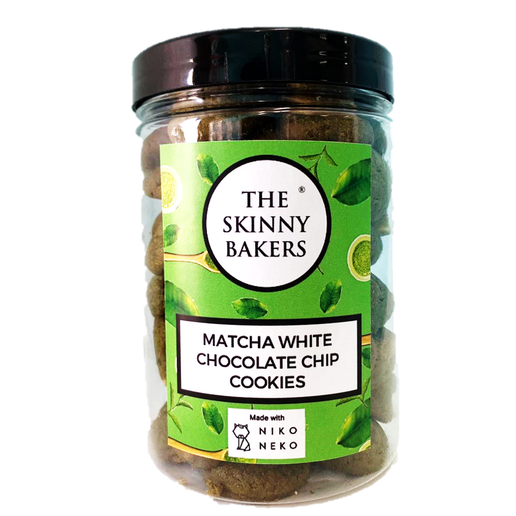 Cookie Jar - Matcha White Chocolate Chip Cookies (in collaboration with NikoNeko)